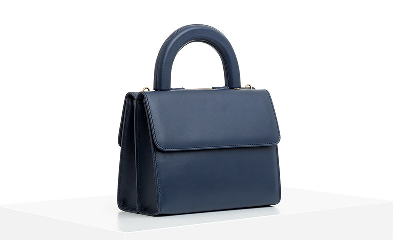 CLAUDIA Navy Blue (Lateral view)