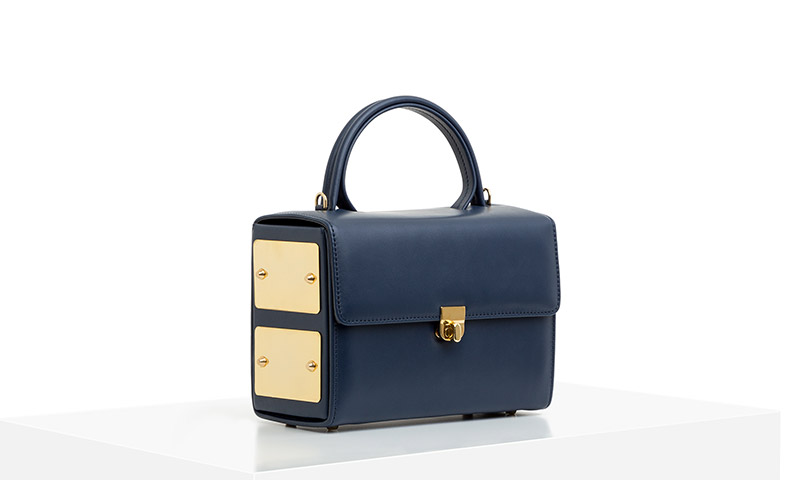 SANTANA Navy Blue (Lateral view)