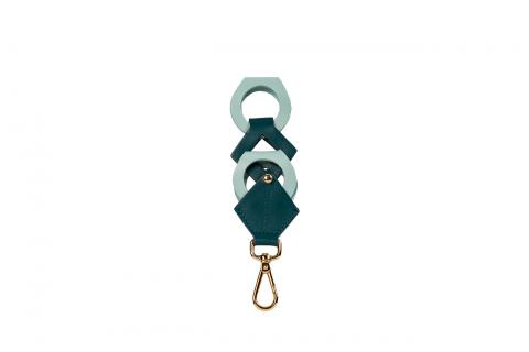 Geometric Key Chain multicolor